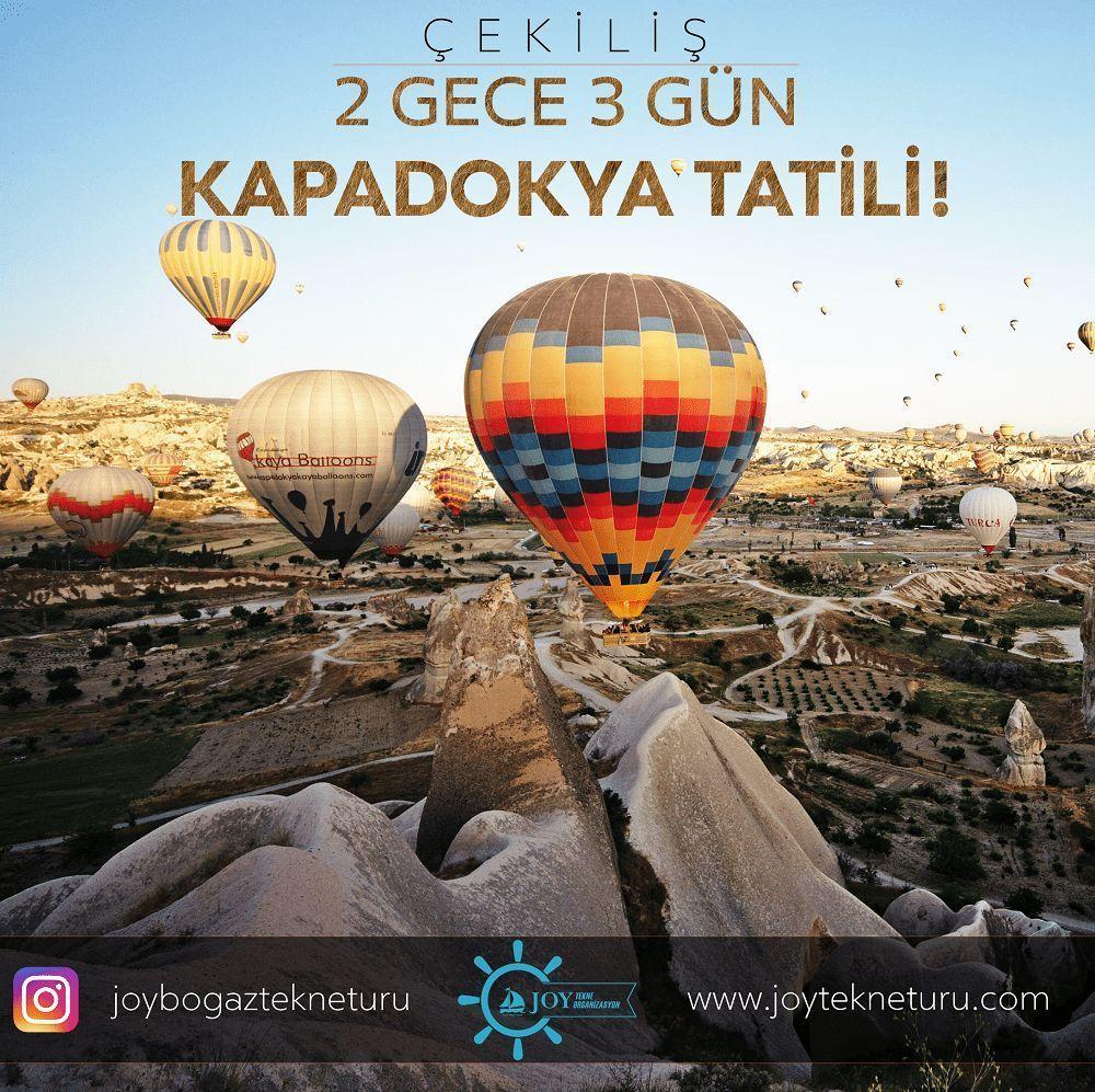 Joy Tekne Tur Kapadokya Tatili